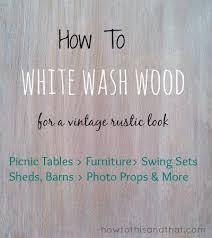 diy furniture restoration ideas. How To White Wash Wood For A Vintage Rustic Design Diy Furniture Restoration Ideas