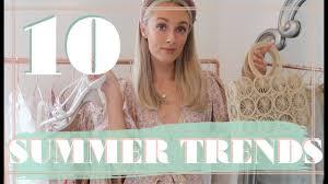 10 <b>SUMMER FASHION</b> TRENDS // <b>Fashion</b> Mumblr - YouTube