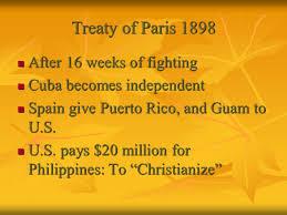 「1898 paris treaty」の画像検索結果