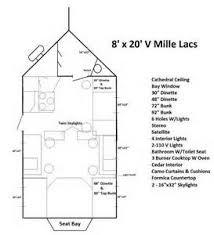 Fish House Floor Plans Luxury House And Floor Plans  Fish House    Ice Castle Fish Houses Floor Plan