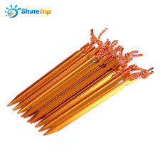online get cheap personal strengths aliexpress com alibaba group 10pcs shinetrip aluminium alloytent peg nail high strength stake rope camping equipment outdoor traveling tent