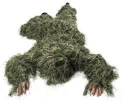 Nitehawk <b>Kids</b>/<b>Childrens</b> Woodland <b>Camo Camouflage Ghillie</b> ...