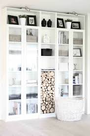 who said you cant organize log storage in a billy bookcase awesome home office ideas ikea 3