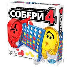 Настольная <b>игра</b> «<b>Собери</b> 4» русскоязычная, <b>A5640121</b> купить ...