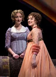 theater review sense and sensibility chicago shakespeare theater sharon rietkerk and megan mcginnis in sense and sensibility at chicago shakespeare theater photo by