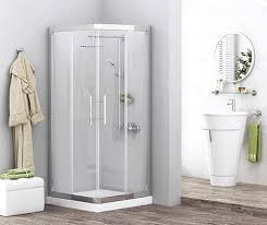 <b>Душевой уголок 80х80 см</b> прозрачное стекло WasserKRAFT ...