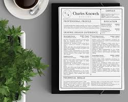 classy resume designs charles knowels resume template for ms word