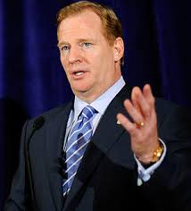 Roger Goodell once again is wielding his fist of iron when it comes to discipline.