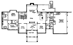 Sugar Grove Italian Home Plan D    House Plans and MoreLuxury House Plan First Floor   D    House Plans and More