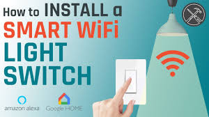 How to Install a <b>Smart WiFi Light Switch</b> (for Amazon Alexa or ...