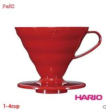 FeiC 1pc <b>3 colors</b> hario coffee dripper V60 Heat resistant <b>resin</b> VD ...