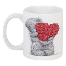<b>Кружка Мишка</b> Тедди #473577 в Москве – купить <b>кружку</b> с ...