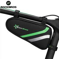 <b>ROCKBROS Cycling</b> Bag <b>Waterproof</b> MTB Road <b>Bicycle</b> Bag Frame ...