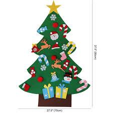 <b>OurWarm DIY</b> Felt <b>Christmas Tree</b> Kids <b>Christmas Tree</b> Decoration ...