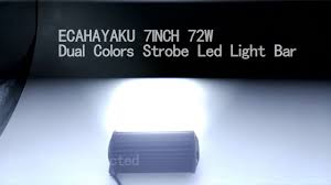 ecahayaku 40 pcs 4 18w 6000k 1260lm led work light bar for motorcycle tractor boat off road 4wd 4x4 truck suv atv spot 12v 24v
