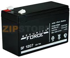 SF 1207 (<b>Security Force</b>, AGM VRLA <b>Battery</b>, 12V; 7Ah) - <b>аккумулятор</b>