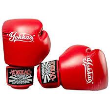 Amazon.com : YOKKAO Vertigo <b>Red Muay Thai Boxing</b> Gloves ...