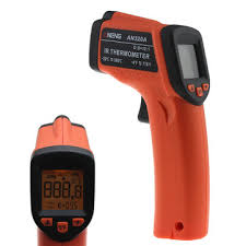 aneng an320a laser <b>lcd digital ir</b> infrared thermometer temperature ...