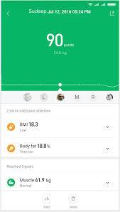 <b>Mi Body Composition Scale</b> - Mi India