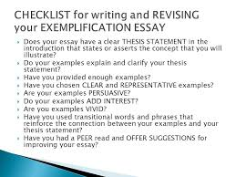explanation essay example writing to illustrate   an exemplification essay uses one or  does example of explanation essay