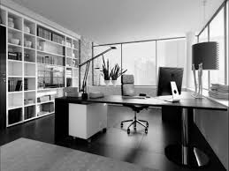 director desk design for work space office joshta home designs fascinating black finish stained wooden cool office space idea funky