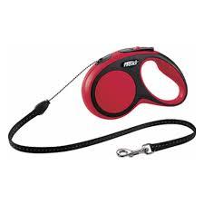 <b>Рулетка FLEXI New Comfort</b> S до 12 кг, трос 5 м, черный-красный ...