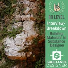 level interview and breakdown building materials 80 level interview and breakdown building materials in substance designer mark foreman