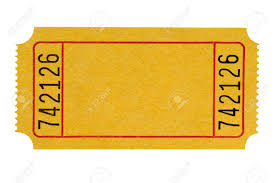 raffle ticket stock photos images royalty raffle ticket raffle ticket blank yellow theater ticket isolated on a white background