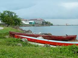Shoreline of Punta Gorda, Belize