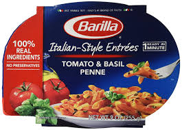 amazon com barilla italian entrees tomato basil penne 9 amazon com barilla italian entrees tomato basil penne 9 ounce pack of 6 penne pasta grocery gourmet food