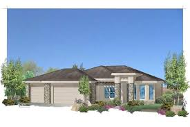 Southwest  Mediterranean  Contemporary House Plans   Home Design         middot  Main image for house plan