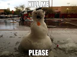 KILL ME PLEASE - snowman - quickmeme via Relatably.com