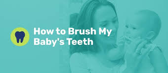 How to <b>Brush</b> My Baby's Teeth - Oral Hygiene For Babies
