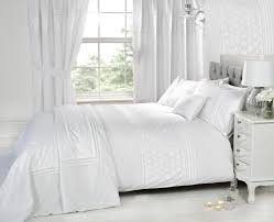 everdean  bed sets  accessories  white