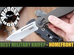 The Best Military <b>Pocket Knife</b> for Deployments? The Homefront ...