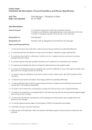 best photos of standard job description template sample job s manager job description sample