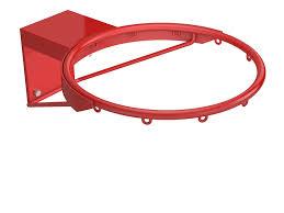 <b>Кольцо</b> баскетбольное Ø 450 №<b>7</b> усиленное с полукольцом.