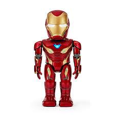 Робот <b>радиоуправляемый UBTech Iron</b> Man MK50 красный Санкт ...