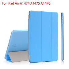 <b>RYGOU For Apple</b> iPad Air Case, PU Leather Magnetic Front Smart ...