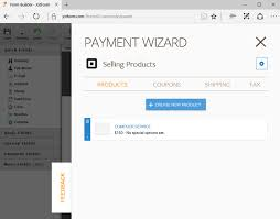 process square payments online jotform add product details to square payment form
