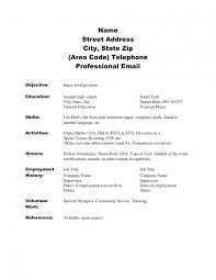 basic resumes for highschool students cipanewsletter sample academic resume template high school resume sample