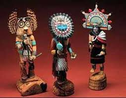 Image result for los Kachinas azul . los hopis