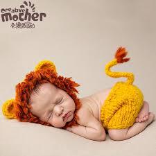 Crochet <b>Newborn Photography Props</b> Infant Costume Outfit <b>Cute</b> ...