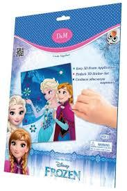 <b>D&M</b> Набор для творчества Сестры Frozen (65100) — купить по ...