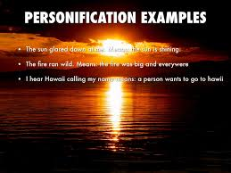 pictures personification examples homes personification by danielle celestino