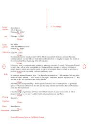 example of complaint letter in full block style business letters full block letter example an example can be found here