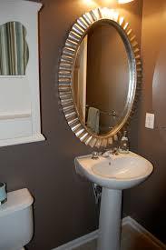 bathroom vanity mirror ideas modest classy:  images about powder room ideas on pinterest pedestal toilets and half baths