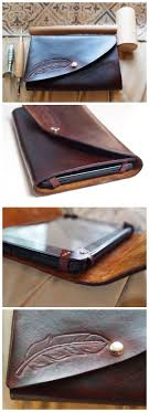 DIY <b>Leather Tablet Case</b>
