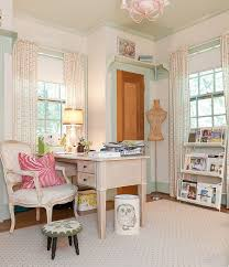 elegant home office combines traditional and shabby chic styles from kristie barnett melanie chic home office bedroom