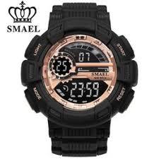 SMAEL Men Sport Watches LED Display Digital Watch ... - Vova
